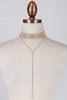 Diamond Chain Choker