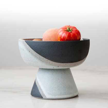 Phases footed bowl II