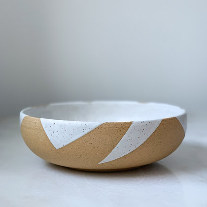 Leaf low bowl medium