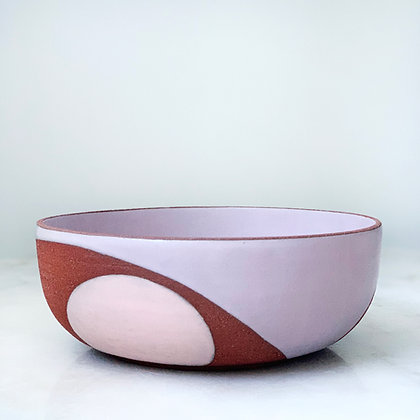 Phases large serving bowl