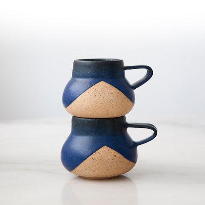 Peaks nightfall mug blue/black