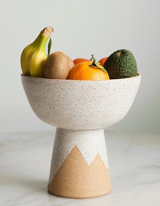 Peaks large pedestal bowl