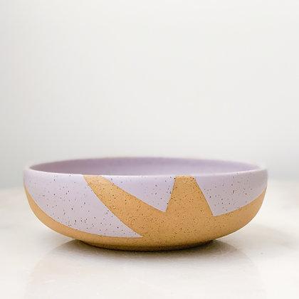 Leaf low bowl large