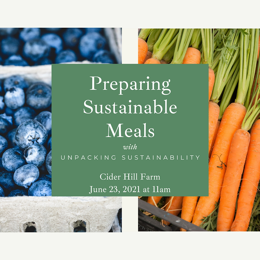 Preparing Sustainable Meals with Unpacking Sustainability