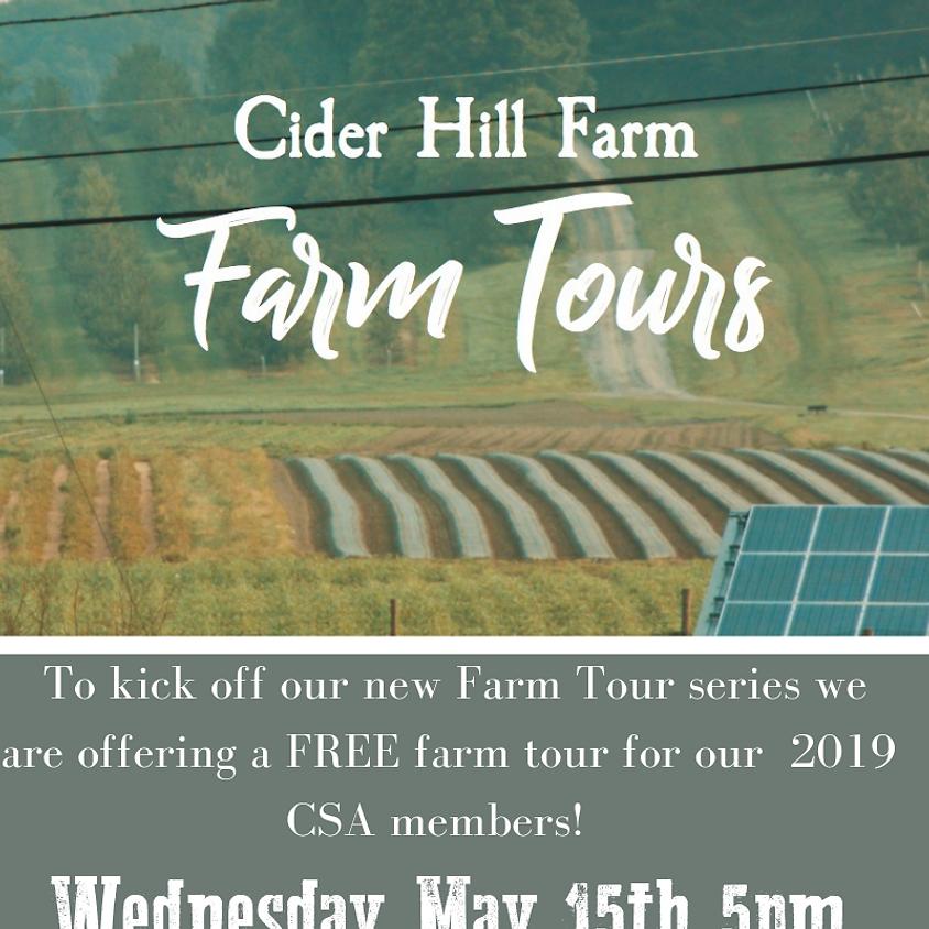 CSA VIP Farm Tour
