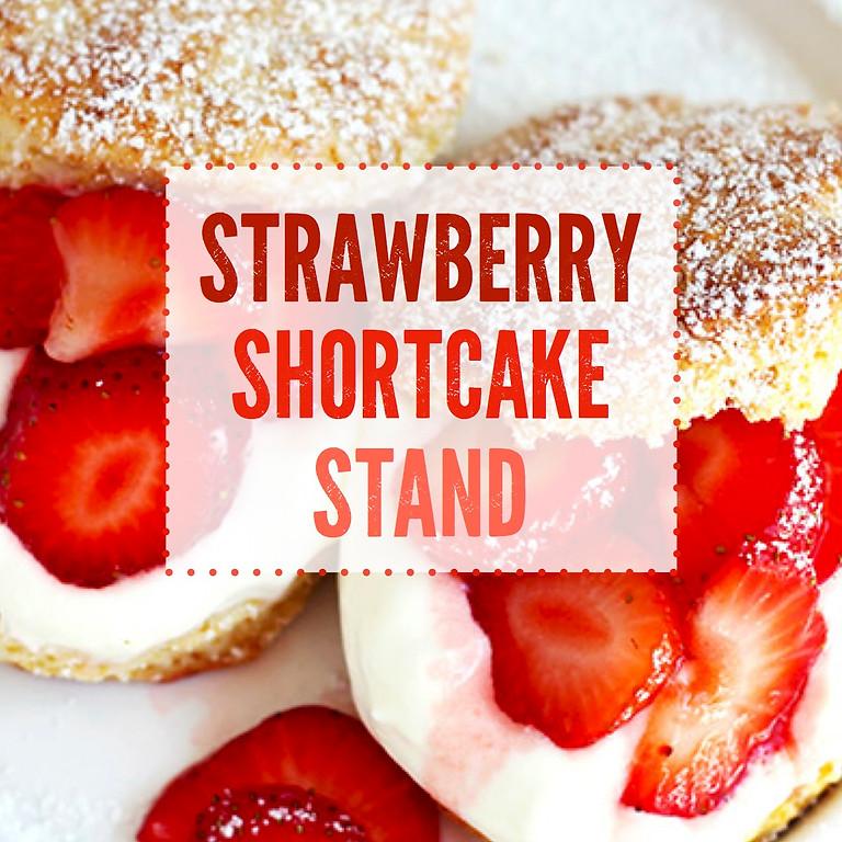 Strawberry Shortcake Stand