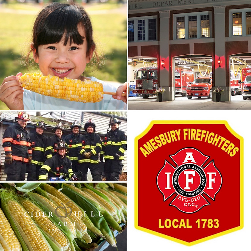 Corn Cookoff with Amesbury Fire Department Local 1783
