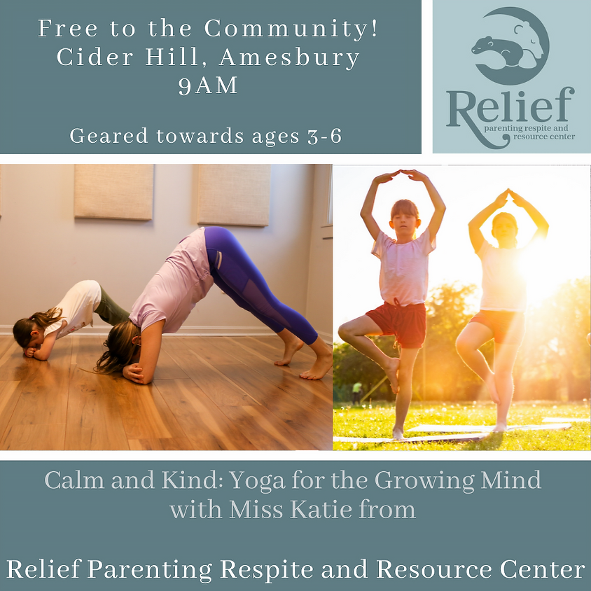 Free! Calm & Kind: Yoga for the Growing Mind - July