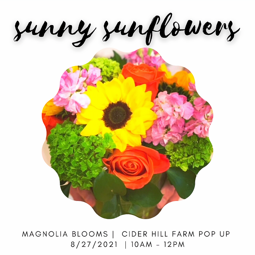 Make Your Own Bouquet: Sunny Sunflowers
