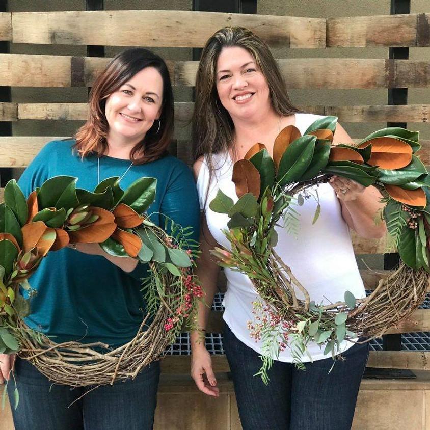 Harvest Wreaths at the Farm