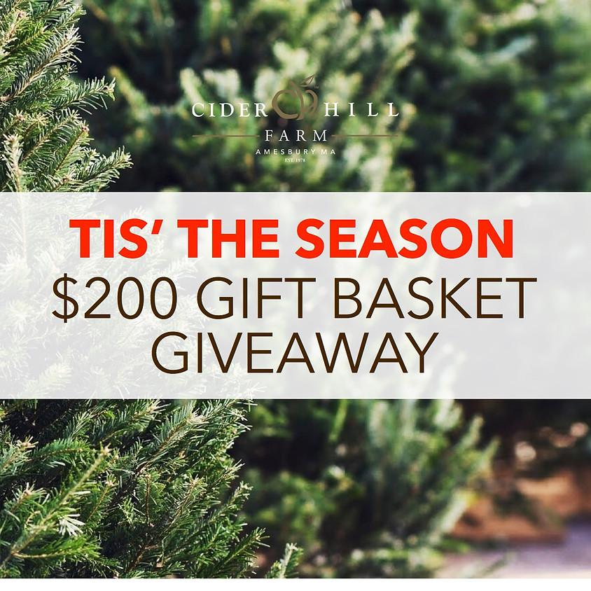 $200 Gift Basket Giveaway