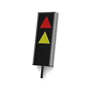 Signalelement zur optischen und akustischen Warnung für rechts oder links