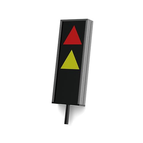 Signalelement zur optischen und akustischen Warnung