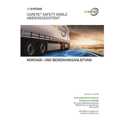 Handbuch (Bedienungs- und Montageanleitung) in gedrucker Form