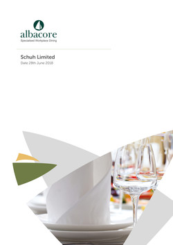 Hospitality Folder