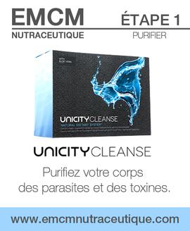 EMCM-NUTRACEUTIQUE-ÉTAPE-1-UNICITY-CLEA
