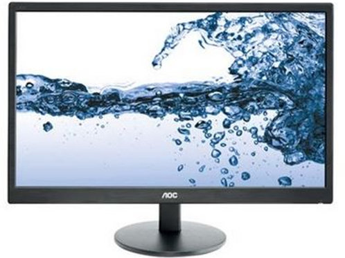 "AOC 21.5"" LED VALUE BLK 1920X1080 5MS 16:9 VGA 100"