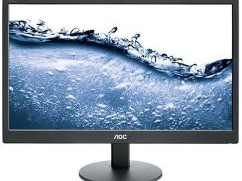 """AOC 19.5"""" VALUE WLED 1600X900 5MS D-SUB 100X100 BL"""