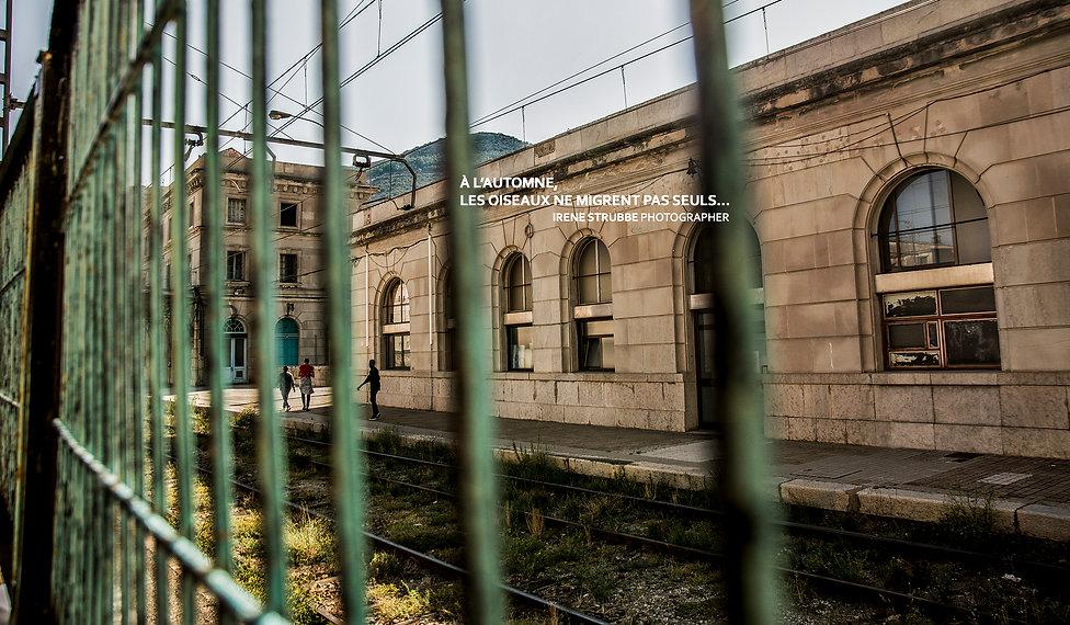 immigration reportage photo par Irène Strubb