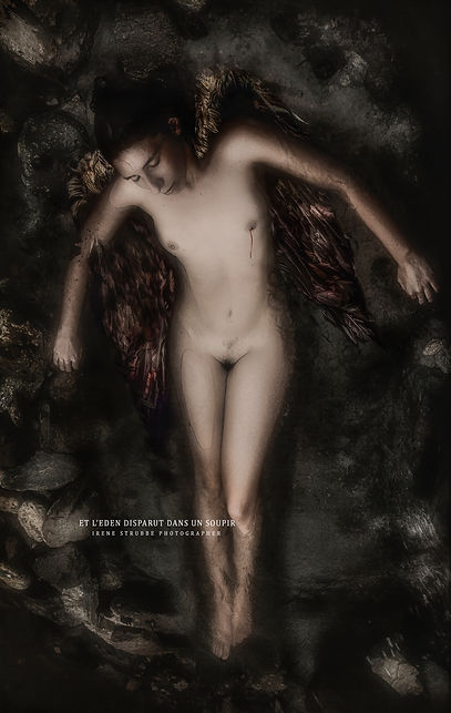 fineart nude photography by Irène Strubbe
