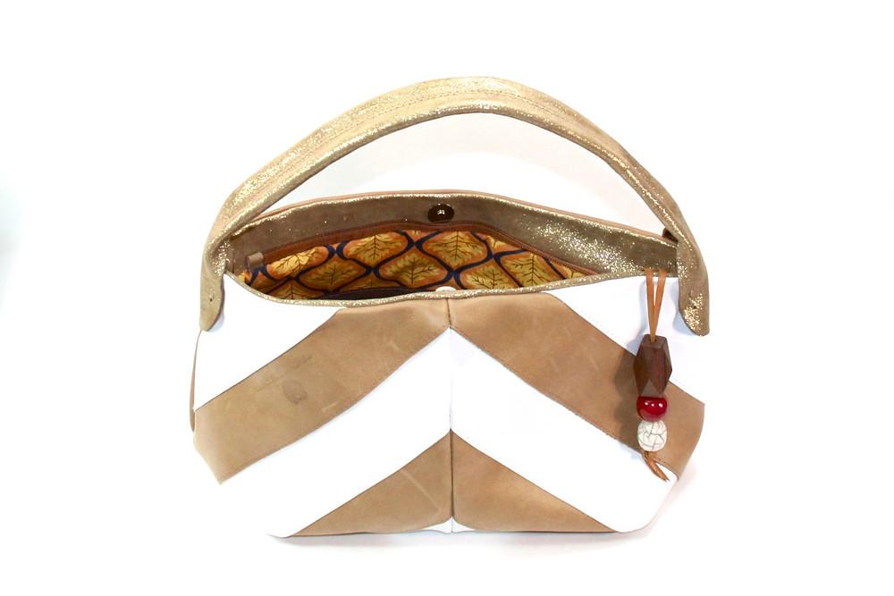 Bolso modelo 'MINI ESPIGA' de #BertandBri