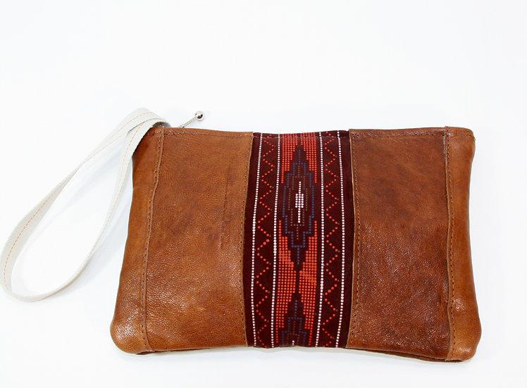 """JANIS XL"" SPECIAL Zipper Clutch Cremallera"