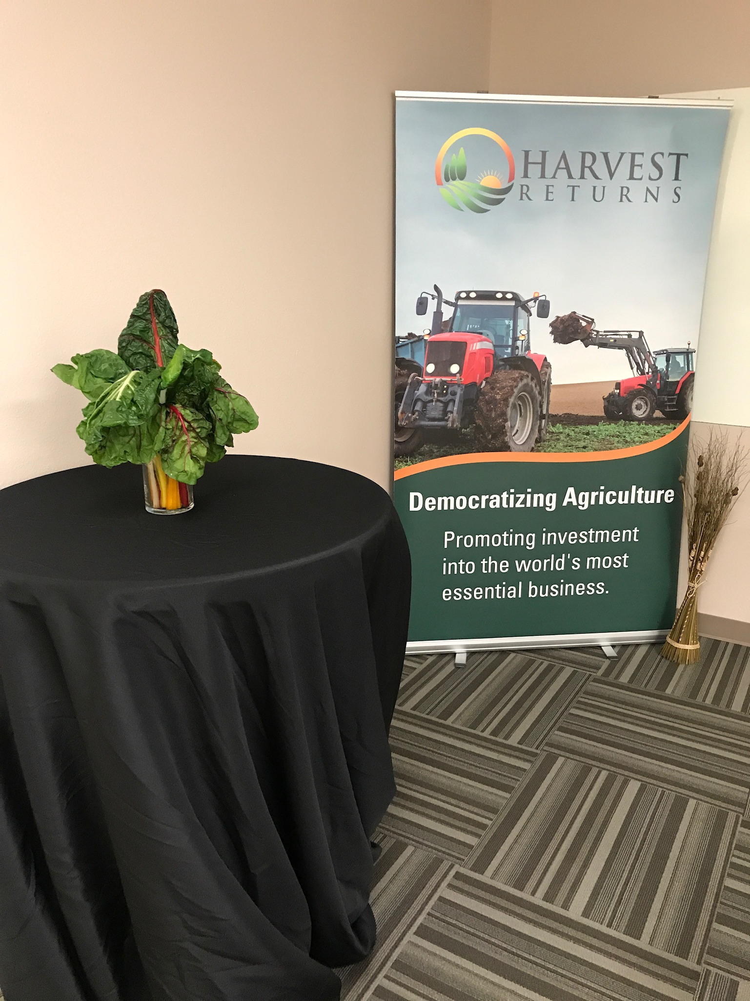Private Agriculture Cocktail Event