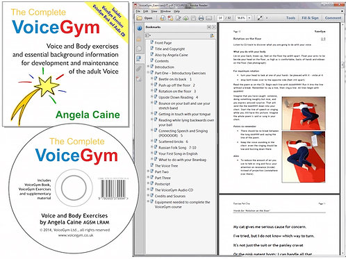 The Complete VoiceGym on CD