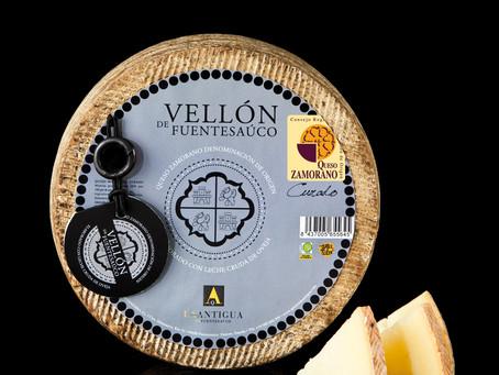 Выдержанный овечий сыр Vellón de Fuentesaúco (Curado): золото на International Cheese Awards