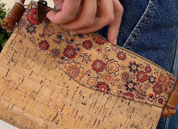 Natural Cork Small Handbag / Crossbody by The Cork Shop
