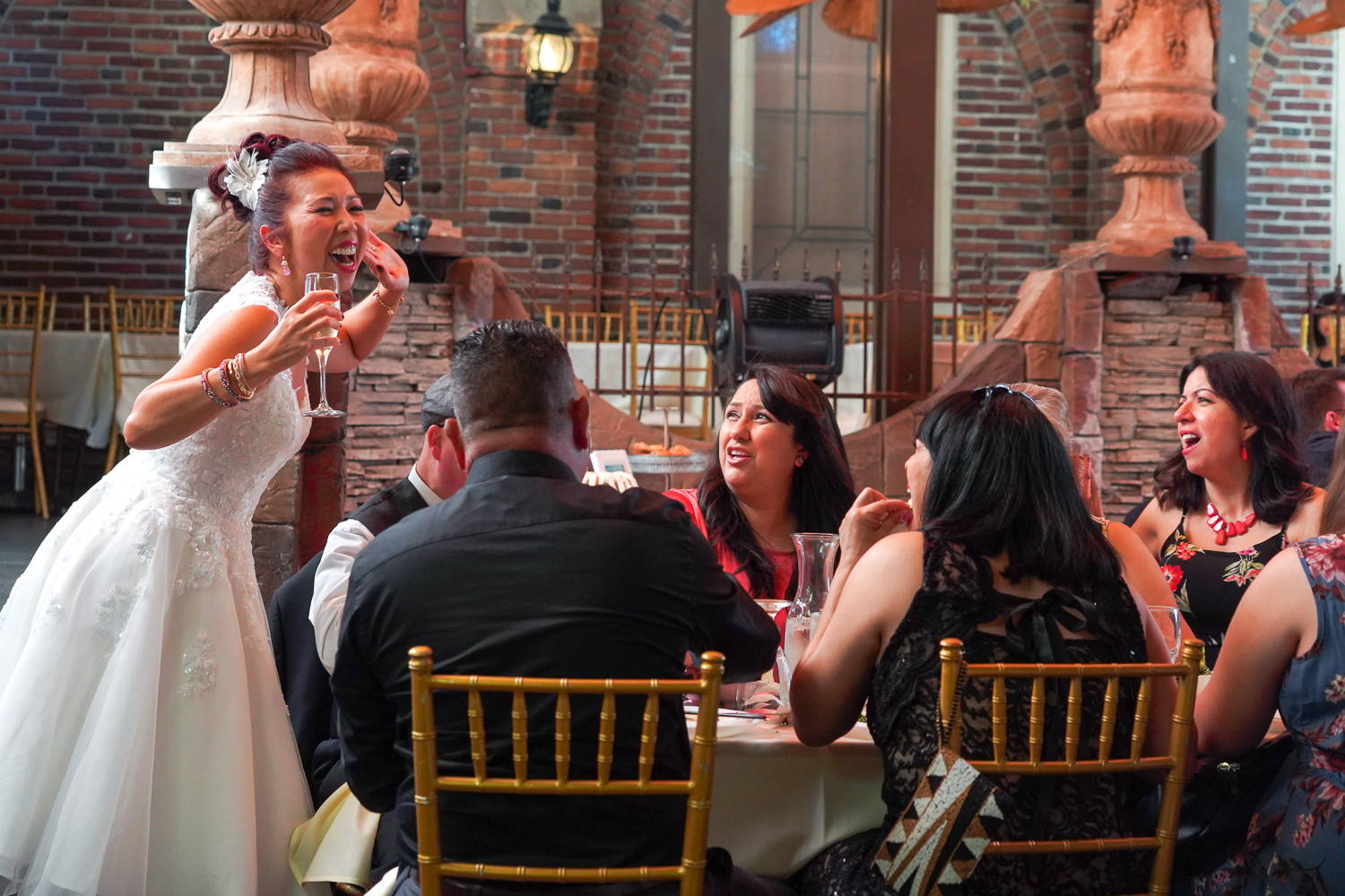 CATEGORY: Events LOCATION: Wedding Reception at Restaurant