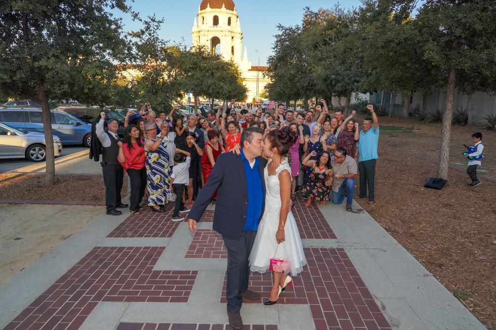 CATEGORY: Events LOCATION: Wedding Reception at Pasadena City Hall