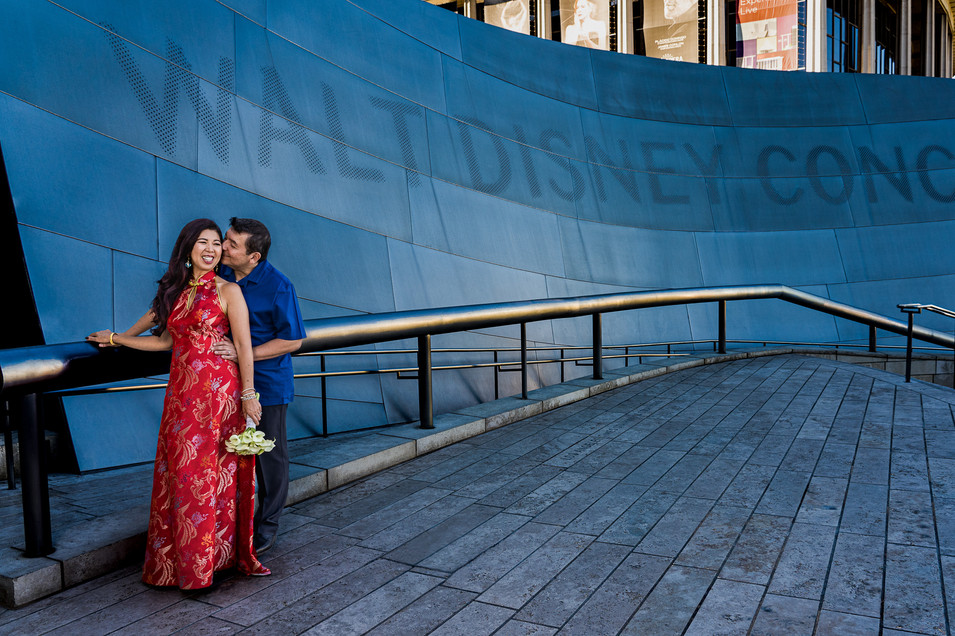 CATEGORY: Engagement LOCATION: Walt Disney Concert Hall