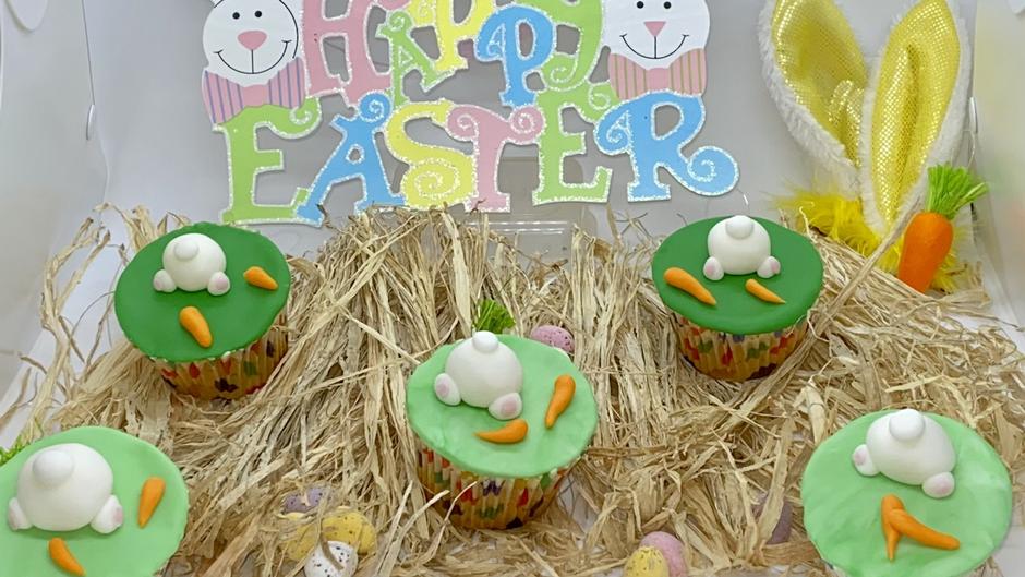April 2021 -Easter Cupcakes