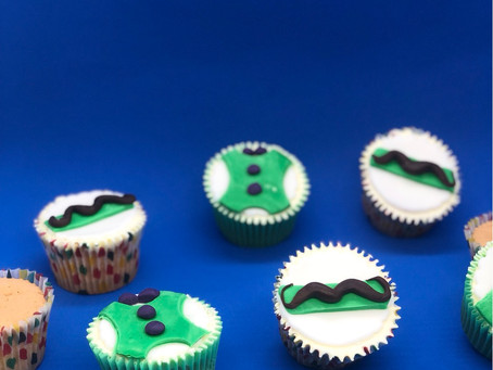 June 2021 - Fathers Day cupcakes
