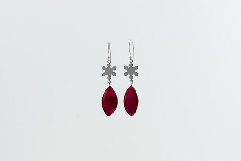 Halcyon - Silber Ohrringe