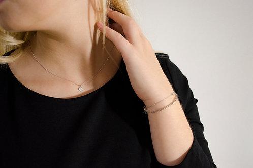 Amelia - Gold Halskette