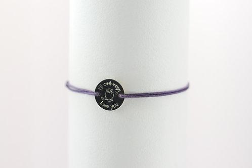 Owl-ways - Gravur Silber Armband