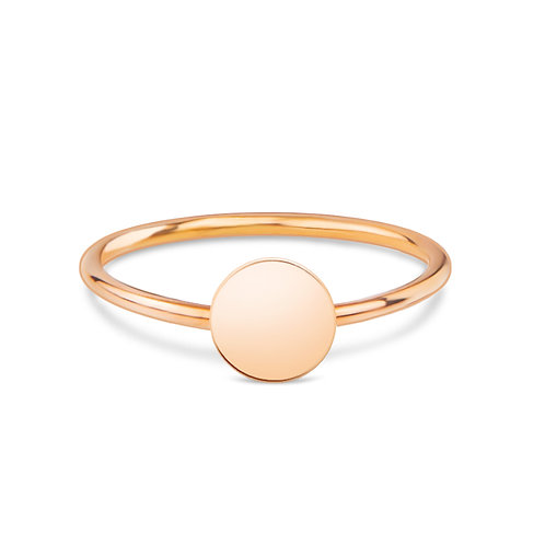 Round - Gold Ring (small)