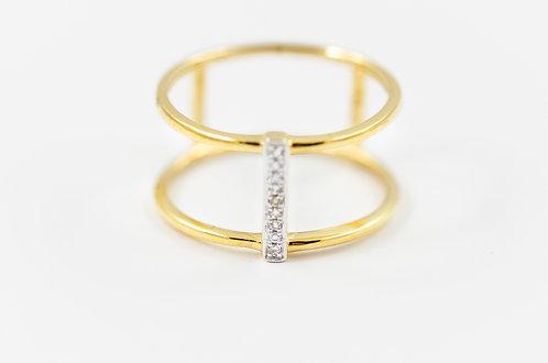 Steff - Triple Gold Ring