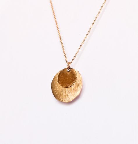 July - Gold Halskette