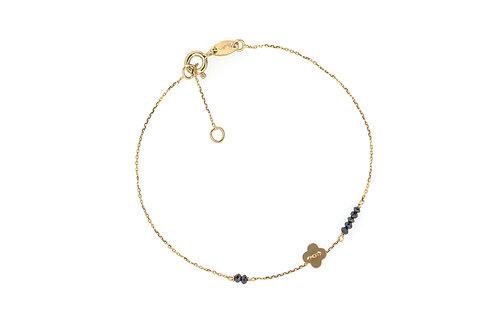 Lucky Diamond - Gold Armkette
