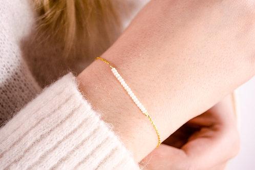 Crystal- Silber Armkette