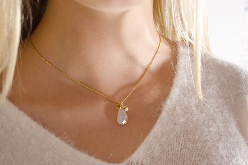 Fiona - Silber Halskette