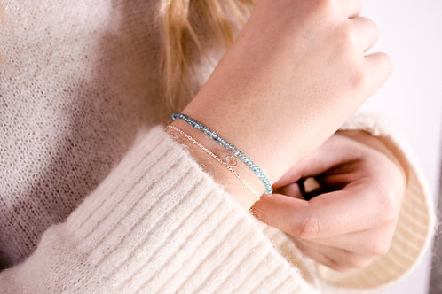 Felice - Wave - Silber Armkette