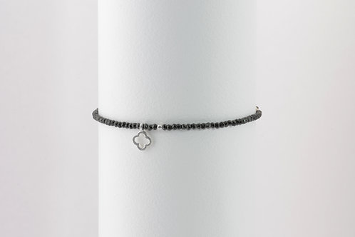Felice Black - Silber Stein Armband