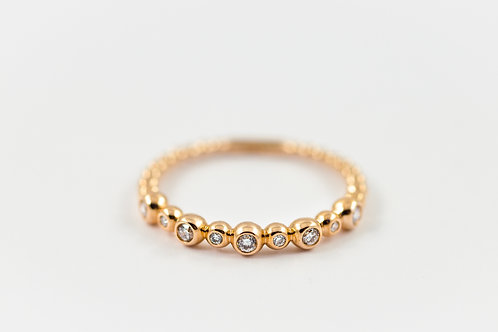 Bubble - Gold Ring
