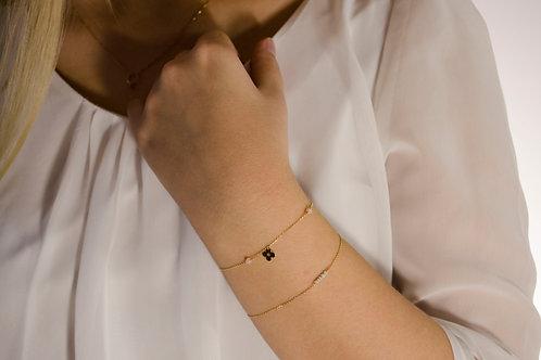 Flora - Gold Armkette