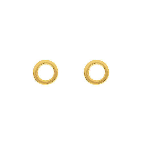 Enso - Gold Ohrstecker