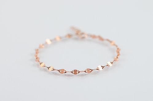 Poppy - Silber Armkette